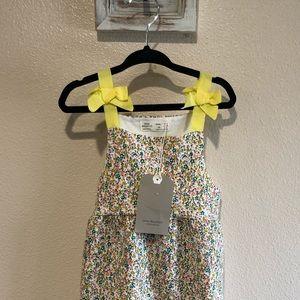 Zara floral girl dress NWT